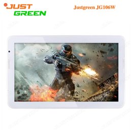Wholesale Tablet Android Inch Prices - Factory Price JUSTGREEN JG106W Android 5.0 Tablet PC 10.6 inch 1366x768 Allwinner A33 Quad Core 1GB RAM 16GB ROM 2MP Camera