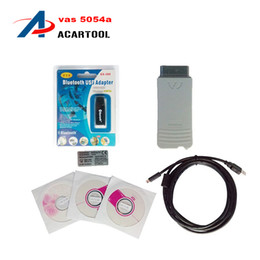 Wholesale Diagnostic Tool Polish Language - VAs 5054A Diagnostic Interface Vas 5054 Scanner with Bluetooth & Multi-language Vas5054a Diagnostic Tool with all Chip with Oki High Quality