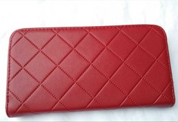 Wholesale Woman Pull Ship - Free Shipping New Woman Selling Pu Single Pull Purse Clutch Bag Wallet Card Holder 5 Colors
