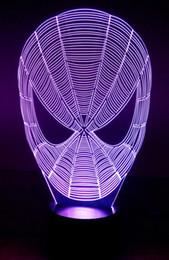 3D-Nachtillusionslicht 7 Farben ändern sich durch Berühren des Schaltertisches unter dem Licht (3d-008) von Fabrikanten