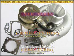 Wholesale 3sgte Mr2 - CT26 17201-74010 1720174010 17201 74010 Turbo Turbocharger For TOYOTA Celica GT Four ST165 MR2 4WD 1987-1989 3SGTE 3S-GTE 3SG-TE 2.0L 185HP