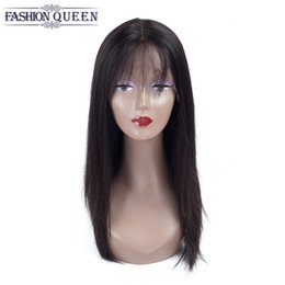Wholesale Lace Front Wigs Fringe - Full Lace Human Hair Wigs For Black Women Brazilian Full Lace Wigs With Fringe Silk Top Straight Glueless Lace Front Human Hair Wigs