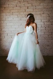 Discount discount-discount - Long Mint Green Bridesmaid Dresses 2016 Custom Made Plus Size Junior Bridesmaid Dress Tulle Wedding Formal Party Dress Maid honor of dress