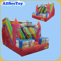 Wholesale Inflatable Slides For Kids - Hot Selling Inflatable Slide for Kids,Inflatable Bouncy Castle Slide Commercial Quality Inflatable Slide