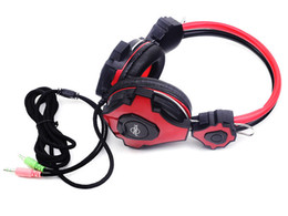 Wholesale Headphone Good Bass - 2016 good quality stereo bass headphones yo-999 music headphones head set with microphone for PC computer gamer Skype Y-EJ