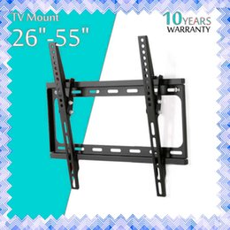 Wholesale Lcd Led Tv 55 Inch - Flat Panel Tv Fixed Mount HDTV Mount TV Wall Mount Bracket 26 32 39 40 42 50 55 inch for LCD LED Screen 01