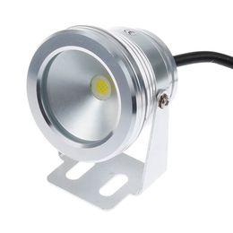 Wholesale 12v Underwater Led Spotlights - 10w 12v LED Underwater Light Underwater Spotlight Waterproof Spotlight For Swimming Pool Pond Fish Tank Aquarium Waterproof
