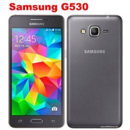 2019 разблокированные галактики сотовых телефонов Оригинальный Samsung Galaxy Grand Prime G530 G530H Ouad Core Dual Sim разблокирован сотовый телефон 5.0 дюймовый сенсорный телефон дешево разблокированные галактики сотовых телефонов