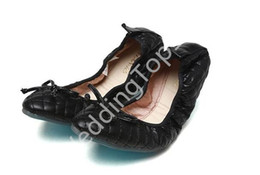 Wholesale Bottom Pregnant - 2016 leather flat single woman shoes Shallow cone female shoes mouth soft bottom anti-slip pregnant women shoes driving shoes roll up shoe