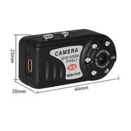 Wholesale Hd Thumbs - IR Night Vision T8000 Metal case 12MP COMS Hidden Camera Mini Camcorder Thumb Mini DV Digital Camera Recorder HD DVR