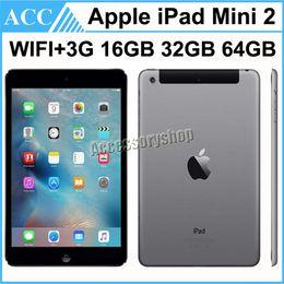 Wholesale Apple Ipad 64gb - Refurbished Original Apple iPad Mini 2 2nd Generation WIFI + 3G Cellular 7.9 inch IOS A7 16GB 32GB 64GB Retina Display Warranty Included DHL