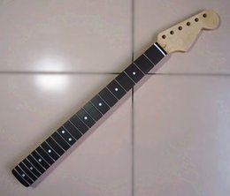 Wholesale Guitar Neck For Fender - 21 22 Frets inlay dots Electric Guitar Canadian maple Neck Wholesale Guitar Parts guitarra musical instruments accessories