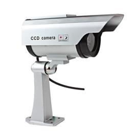 Wholesale dummy security surveillance camera - Fake Dummy Camera Waterproof Outdoor Indoor Security CCTV Surveillance Camera Night Flashing Light CCT_701