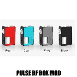 Wholesale Food Grade Silicone - 100% Original Vandyvape PULSE BF BOX MOD Vandy Vape Squonk 18650 20700 Battery Mod Built In 8ml Food Grade Silicone Bottle