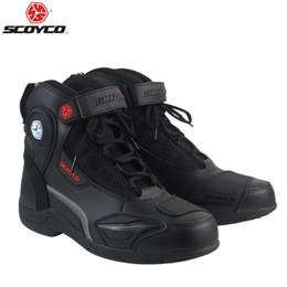 SCOYCO T-015 Moto Racing simili cuir bottes moto chaussures moto sport route SPEED professionnel botas ? partir de fabricateur