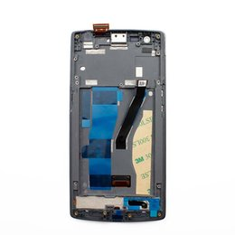 Wholesale Oppo Screen - For Oneplus one plus 1 Display LCD with frame 1+1 A0001 LCD touch screen Assembly replacement