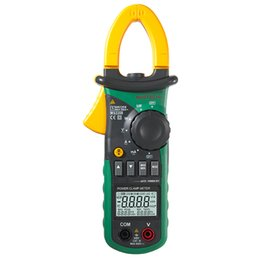 Wholesale Multimeter Current Clamp - Wholesale-Mastech MS2208 Harmonic Power Clamp Meter Tester Multimeter Trms Voltage Current Power Phase Angle Test