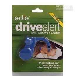 Wholesale Sleep Alert Alarm - Professional Mini Safety Alarm Nap Zapper Anti Sleep Nap Alert Driver Alert Reminder Blue and Black Wholesale Dropshipping