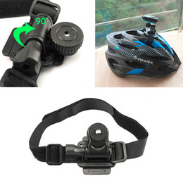 Wholesale Bicycle Camera Helmet - Wholesale-New Arrival Bike Helmet Mount Bicycle Holder for Mobius ActionCam Sports Camera Video DV DVR