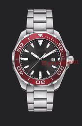 Wholesale Ceramic Sport Watch Men - NEW AAA Top Luxury Brand Men's Calibre 300M Chronograph Watch Ceramic Bezel Stainless Steel Quartz Sports Men Watches Aquaracer Wristwatch