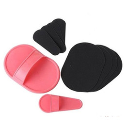 Wholesale Sundepil Smooth - Body Hair Removal Tools Natural Face Hair Removal Exfoliator Pad Manual Mini Hair Removal Remover Smooth Legs Sundepil Free DHL