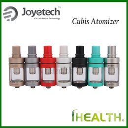 Wholesale Design Glass Cup - Joyetech CUBIS Atomizer Kit 3.5ml Leaking Resistant Cup Design Top Filling Adjustable Airflow Control Tank with BF coils 7 color options