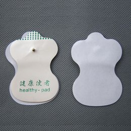 Wholesale Cheap Tens - Cheap Price White Electrode Pads For Tens Acupuncture Digital Therapy Machine Massager Tools Health Care 2piece=1pair