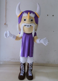 Wholesale Mascot Viking - SX0727 100% real picture Viking man mascot costume for adult to wear
