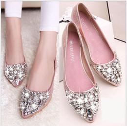 Wholesale Pink Gingham - 2018 Women's shoes Four Seasons zapatos mujer talón plano vaca suela muscular a pie de cuero genuino zapatos size:35-42