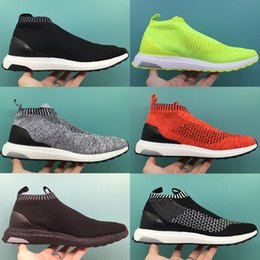 Wholesale Shoes Spikes For Women - 2016 Fashion Top Quality With Box Boots ACE16 ACE 16 PureControl Ultra Boost Ultraboost Shoes Men City Sock Shoes For Women Free shipping