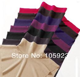 Wholesale Modest Clothes - Wholesale-cotton neck cover islamic modest clothing insert neck insert abaya jilbab neck covers 12pcs lot free ship 7 colors