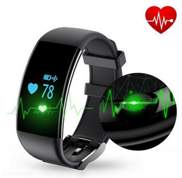 Wholesale Smartphone Heart Monitor - Dfit D21 Smart Bracelet Wristband Bluetooth IP68 Waterproof heart rate Monitor Sport Wristlet Tracker For iphone ios android smartphone