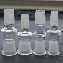 adaptateur 18.8 Promotion 10 Style verre Drop Down Adapter 30g poids tous les 10 styles pour choisir 14.4 18.8 mixte mâle femelle