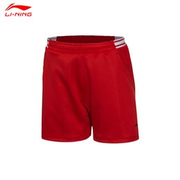 Wholesale Badminton Short Li Ning - Wholesale-2016 All England Open Badminton Championships Li Ning Women Badminton sports shorts Female Badminton Race shorts AAPL012