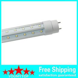 2019 t5 tubo 12w Luce a LED a forma di V tubo di raffreddamento del tubo T8 Led Luci fluorescenti Lampada a doppio bagliore 2.4 m 1.8 m 1.5 m 1.2 m 0.9 m