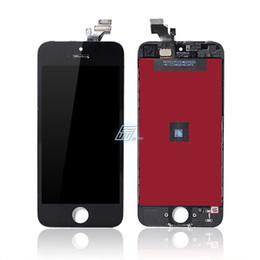Iphone grade aaa en Ligne-Digitaliseur de remplacement pour iPhone 5 5G Grade AAA Qualité Écran LCD Écran Tactile Digitizer Assemblée Pas de Mort Pixel Livraison DHL Gratuite
