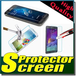 Wholesale Mini S4 Real - 9H Premium Real Tempered Glass Film Guard Screen Protector For Samsung Galaxy Note 5 4 3 S2 S3 S4 S5 Mini Free Shipping MOQ:100pcs