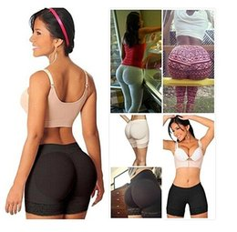 Wholesale Body Pants - FeelinGirl New Arrival Women Bottom Pants Body Sculpting Underwear Butt Enhancer Butt Lift Shapwear with Butt Pad