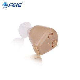 Wholesale New Ear Hearing Aid - FEIE Brand New Mini Rechargeable Hearing Devices Ear Deaf Aid S-216