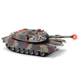 Wholesale Huanqi Toys - Wholesale- HUANQI 549 - 02 RC Tank 2.4G 1:24 Scale M1A2 Simulation RC Battle Tank Toy