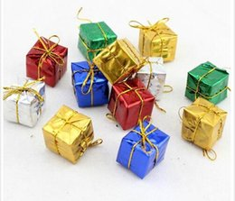 Wholesale Product Trees - Christmas pendant Christmas products decorating the Christmas tree to hang act the role ofing is tasted Square small gift bag dhl