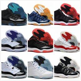 Wholesale Silk Velvet Fabrics - New 11 Velvet Heiress Night Maroon Men Women Basketball Shoes Wine Red 11s Velvet Heiress Sports Sneakers High Quality With Shoes Box
