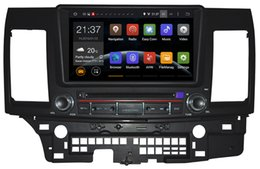 Wholesale Lancer Rear - Android 5.1 Car DVD PC for MITSUBISHI LANCER With GPS, Bluetooth, Radio, FM, AM, RDS, MP3, MP4, DVD, SD, USB, wheel control
