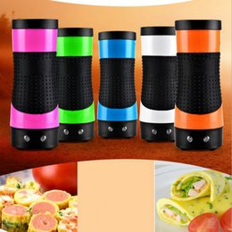 Wholesale Automatic Egg Boiler - 5 Color Multifunctional Egg Boiler Automatic Egg Roll Maker Cooking Tools Egg Cup for Breakfast Fried Eggs