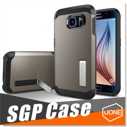 Wholesale Sgp Tough - SGP Tough Armor Case For Samsung Galaxy S8 S8 Plus Iphone 7 7 Plus Case Galaxy Note 4 5 Cover Case EXTREME PROTECTION Without Packaging