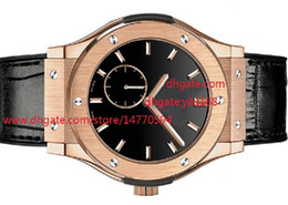 Wholesale Classic Sports Watches - Mens sale Christmas gift wristwatch Classic Fusion Black Rubber Band Mens Sport Automatic mechanical Men's Watches WristWatches