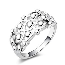 Wholesale Three Stone Channel White Plated - Classic 925 Silver Vintage Ring New 925-sterling-silver-jewelry Fashion Crown Bright Square Rings For Women Men Jewelry