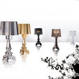 Wholesale Clear Tables - Desk Lamp Modern Table Lamps For Bedroom Ghost Shadow Bedside Lamp Acrylic Material Lamparas De Mesa Creative New Design Lamp