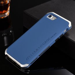 Wholesale Iphone Elements - Luxury Element Phone Bag Cases For Iphone 7  Iphone 7 Plus With Designer 'S Aluminium And Pc Case Element For Iphone 7  7 Plus Case