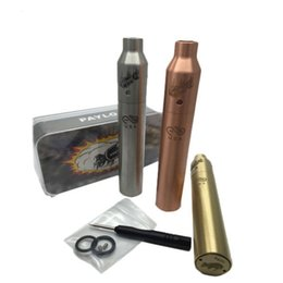 full copper mechanical mod Promo Codes - Vaporizer Payload RDA Ruby Mechanical Mod Starter Kit 3 Colors Silver Brass Copper Full Mech Mod High Quality DHL TZ684